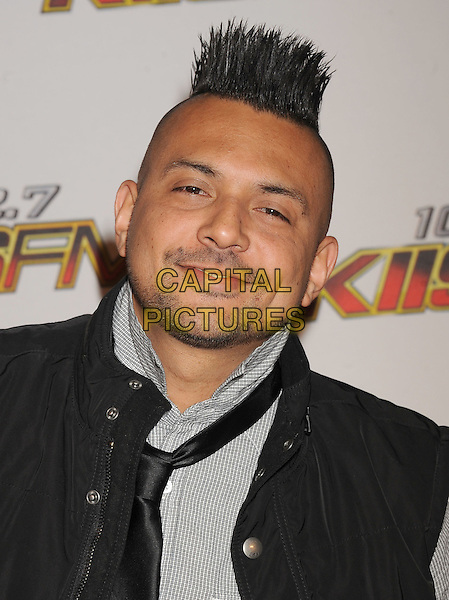 Sean Paul.The 102.7 KIIS FM's Jingle Ball at the Nokia Theatre L.A. Live in Los Angeles, California, USA..December 3rd, 2011.headshot portrait black   stubble facial hair.CAP/ROT/TM.©Tony Michaels/Roth Stock/Capital Pictures