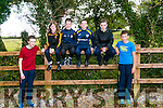 At the Kerry ETB orienteering event in Ballyseedy Wood on Tuesday were Luke Diggin, Zein O'Flaharty, Ronan Sheehan, Jason O'Connor, Jack O'Sullivan, Ethan Victor   from Killorglin Community College