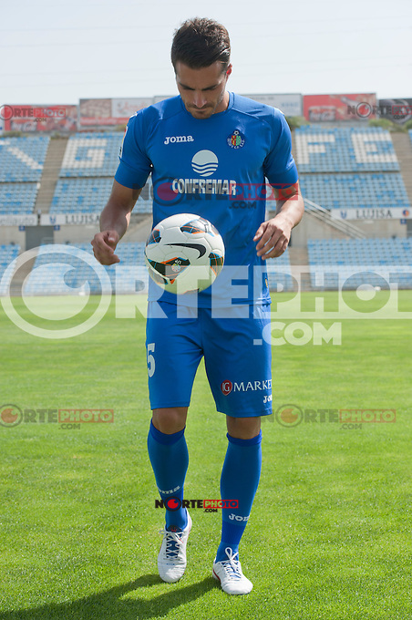 Presentation of Xavi Torres as a new player of Getafe C.F. on August 21th 2012..photo: (ALTERPHOTOS/RICKY BLANCO) /NortePhoto.com