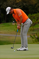 Lucas Herbert (AUS) on the 3rd green during round 2 of the Australian PGA Championship at  RACV Royal Pines Resort, Gold Coast, Queensland, Australia. 20/12/2019.<br /> Picture TJ Caffrey / Golffile.ie<br /> <br /> All photo usage must carry mandatory copyright credit (© Golffile | TJ Caffrey)