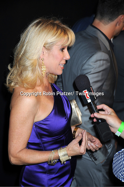 Ramona Singer attending the Kim Kardashian and husband Kris Humphries Welcome to New York Party on August 31, 2011 at Capitale in New York City.