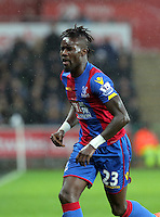 Pape Souare of Crystal Palace during the Barclays Premier League match between Swansea City and Crystal Palace at the Liberty Stadium, Swansea on February 06 2016