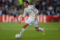 Cardiff City Stadium, Cardiff, South Wales - Tuesday 12th Aug 2014 - UEFA Super Cup Final - Real Madrid v Sevilla - <br /> <br /> Real Madrid&rsquo;s Gareth Bale in action<br /> <br /> <br /> <br /> <br /> Photo by Jeff Thomas/Jeff Thomas Photography
