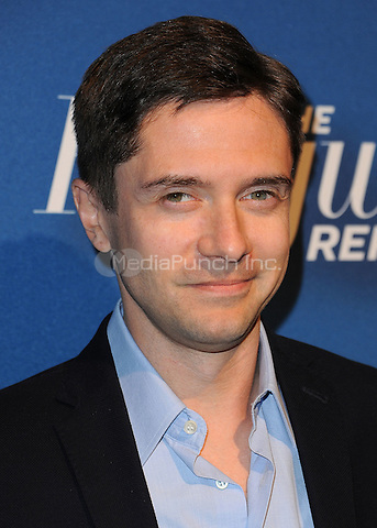 BEVERLY HILLS, CA - FEBRUARY 8:  Topher Grace at the The Hollywood Reporter's Nominees Night at Spago on February 8, 2016 in Beverly Hills, California. Credit: PGSK/MediaPunch