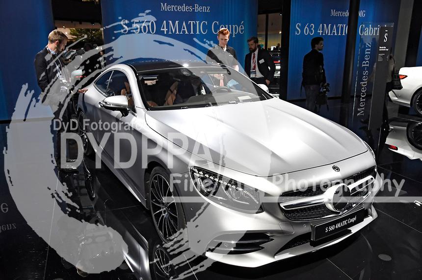 S 560 4matic Coupe auf der Internationalen Automobil-Ausstellung 2017 auf dem Messegelände. Frankfurt am Main, 12.09.2017