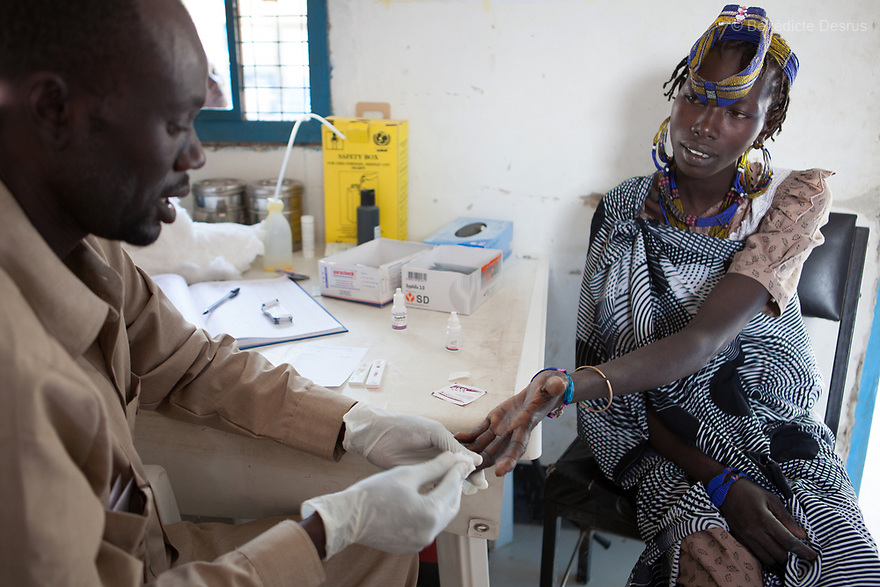 For DOCTORS WITHOUT BORDERS / MSF.<br />