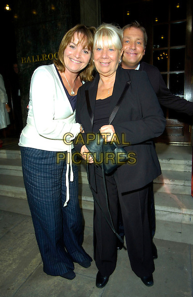 GERRY COOPER & LAILA MORSE.At the Sunday Lunch with Laila Morse, Grosvenor House Hotel, Park Lane, London, England, September 23rd 2007..full length black suit.CAP/CAN.©Can Nguyen/Capital Pictures