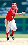 18 June 2006: Ryan Zimmerman, third baseman for the Washington Nationals, in action against the New York Yankees at RFK Stadium, in Washington, DC. The Nationals defeated the Yankees 3-2 in the third game of the interleague series...Mandatory Photo Credit: Ed Wolfstein Photo...