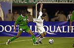 Saudi Arabia vs Iraq during the Olympic Preliminary Qualifier Group C match on March 17, 2004  at the Sultan Qaboos Sports Complex in Muscat, Kuwait. Photo by World Sport Group