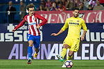 during the match of La Liga between Atletico de Madrid and Villarreal at Vicente Calderon  Stadium  in Madrid, Spain. April 25, 2017. (ALTERPHOTOS/Rodrigo Jimenez)