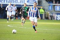 VOETBAL: HEERENVEEN: Abe Lenstra Stadion, 22-02-2015, Eredivisie, sc Heerenveen - FC Groningen, Eindstand: 3-1, Simon Thern, ©foto Martin de Jong