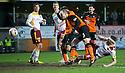 Dundee Utd's Jaroslaw Fojut scores their second goal.