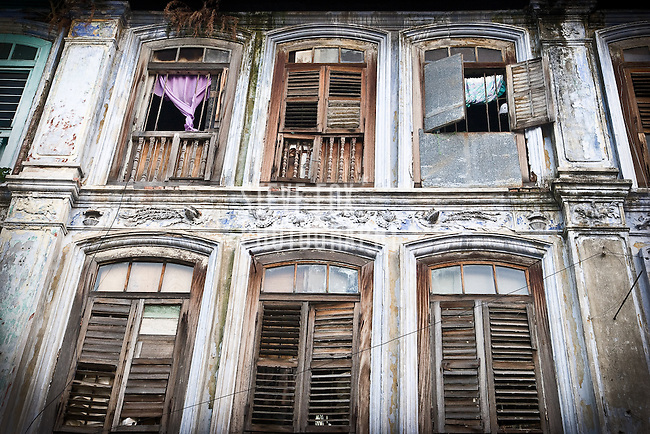 A traditional house in Penang, Malaysia