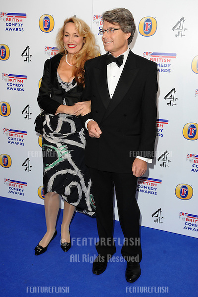 Jerry Hall arriving for 2011 Comedy Awards at Indigo, O2 arena, London. 22/01/2011  Picture by: Steve Vas / Featureflash