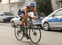 Ole Köpper auf der Radstrecke - Mörfelden-Walldorf 21.07.2019: 11. MoeWathlon
