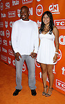 Actor Bokeem Woodbine and guest arrive at the Turner Broadcasting TCA Party at The Oasis Courtyard at The Beverly Hilton Hotel on July 11, 2008 in Beverly Hills, California.