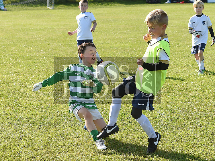 Drogheda Boys Evan Hannan Duleek James Cunningham. Photo:Colin Bell/pressphotos.ie