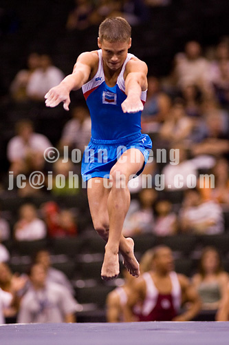 8/16/06 -- Photo By John Cheng -- Visa Championship Men Sr Alexander Artem (Team Chevron) Floor FX
