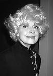 Carol Channing in New York City. September 1, 1991