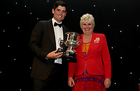 Alistair Cook receives the boundary club batsman of the year award during the Essex CCC 2017 Awards Evening at The Cloudfm County Ground on 5th October 2017