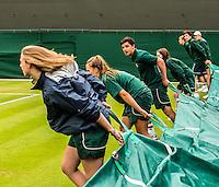 Ambience<br /> <br /> Tennis - The Championships Wimbledon  - Grand Slam -  All England Lawn Tennis Club  2013 -  Wimbledon - London - United Kingdom - Thursday 27th June  2013. <br /> &copy; AMN Images, 8 Cedar Court, Somerset Road, London, SW19 5HU<br /> Tel - +44 7843383012<br /> mfrey@advantagemedianet.com<br /> www.amnimages.photoshelter.com<br /> www.advantagemedianet.com<br /> www.tennishead.net