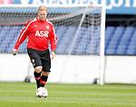 Nederland, Rotterdam, 27 juni 2012.Seizoen 2012-2013.Eerste training Feyenoord.Ronald Koeman (m.), trainer-coach van Feyenoord