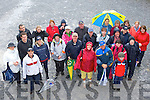 Walkers at the charity walk in aid of Crumlin Children's Hospital in Ross Castle Killarney on Saturday morning....