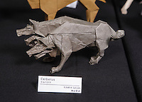 Cerberus designed and folded by Satoshi Kamiya, Japan