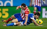 MADRID, ESPAÑA . FUTBOL <br /> Partido de la liga BBVA entre el At.Madrid vs Ath BIlbao . 3/11/2013<br /> Atletico Madrid's Uruguayan midfielder Cristian Rodriguez<br /> PHOTOCALL3000/ Dani Pozo