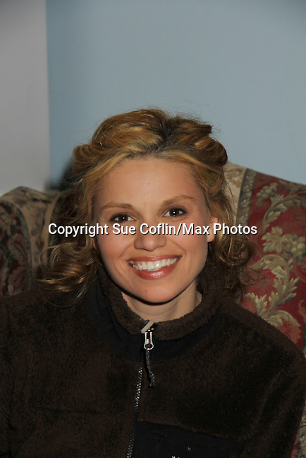 """Guiding Light's Mandy Bruno stars in """"I Hate Hamlet"""" presented by the Harbor Light theater Company on November 19, 2010 at the Snug Harobr Cultural Center, Staten Island, New York. (Photo by Sue Coflin/Max Photos)"""