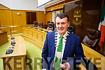 Mayor of Kerry Cllr John Sheahan pictured at Kerry County Council.