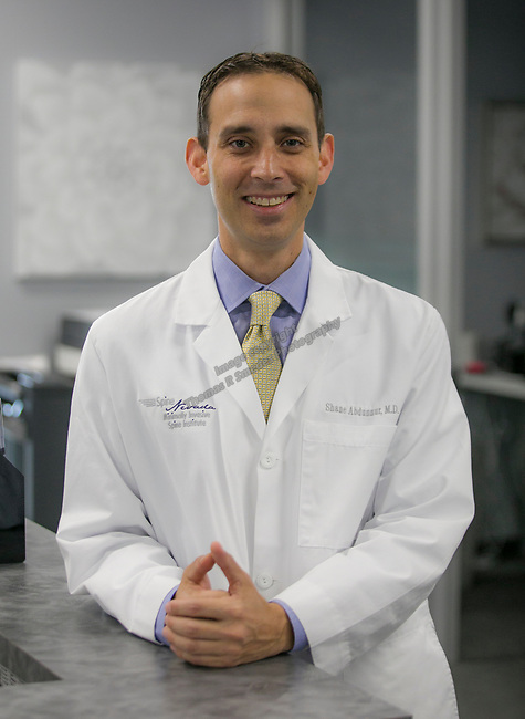 Dr. Shane Abdunnur at the Spine Nevada Copperfield office on Friday, September 20, 2019