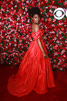 NEW YORK, NY - JUNE 10:  Condola Rashad  at the 72nd Annual Tony Awards at Radio City Music Hall in New York City on June 10, 2018.