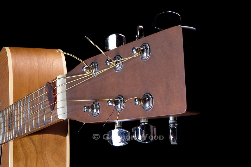 Acoustic Guitar Neck, Head & Body