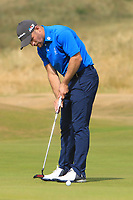Richard McCrudden (Royal Portrush) on the 10th green during Round 2 - Strokeplay of the North of Ireland Championship at Royal Portrush Golf Club, Portrush, Co. Antrim on Tuesday 10th July 2018.<br /> Picture:  Thos Caffrey / Golffile