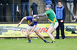 Patrickswell Tom Nolan &amp; Ahane David Laing in action during their Senior Hurling Championship Round 1 Game played in Bruff Co.Limerick.<br /> Pictured Credit Brian Gavin Press 22