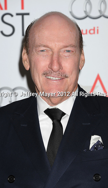 HOLLYWOOD, CA - NOVEMBER 01: Ed Lauter arrives at the opening night gala premiere of 'Hitchcock' during the 2012 AFI FEST at Grauman's Chinese Theatre on November 1, 2012 in Hollywood, California.
