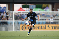 San Jose, CA - Wednesday July 25, 2018: Guram Kashia during a Major League Soccer (MLS) match between the San Jose Earthquakes and the Seattle Sounders FC at Avaya Stadium.