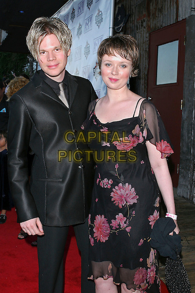 BRIAN CULBERCSON & MICHELLE (WIFE).13th Annual American Society Of Young Musicians Spring Benefit Concert and Awards Show held at the House Of Blues..June 9th, 2005.Photo credit: Jacqui Wong/AdMedia.half length married husband black silk suit black sheer floral print dress.www.capitalpictures.com.sales@capitalpictures.com.© Capital Pictures.