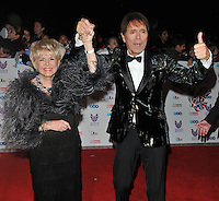 Gloria Hunniford and Sir Cliff Richard at the Pride of Britain Awards 2016, Grosvenor House Hotel, Park Lane, London, England, UK, on Monday 31 October 2016. <br /> CAP/CAN<br /> &copy;CAN/Capital Pictures /MediaPunch ***NORTH AND SOUTH AMERICAS ONLY***