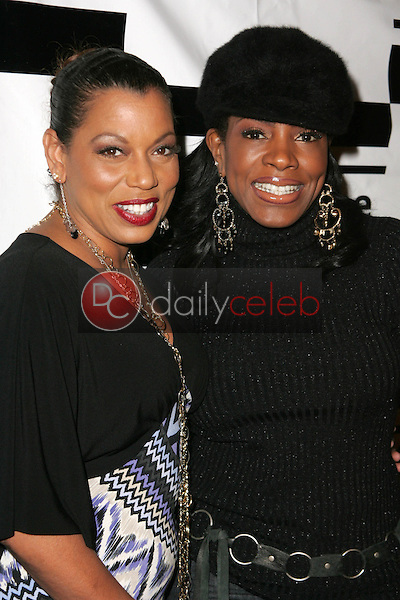 Rolonda Watts and Sheryl Lee Ralph<br />