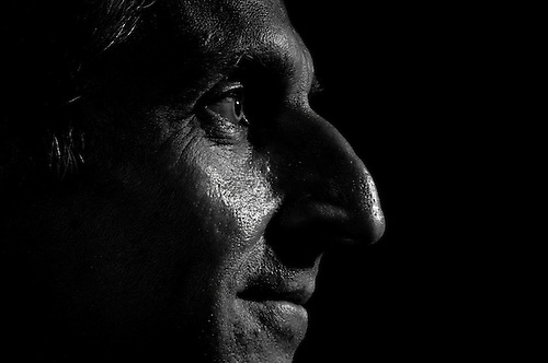 I was hired to do some strong contrast black and white portraits.
