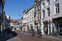 Straat in het centrum van Den Bosch