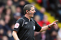 Referee Andy D'Urso. - Sheffield United v Stevenage - npower League 1 - Bramall Lane, Sheffield  - 28th April, 2012. © Kevin Coleman 2012