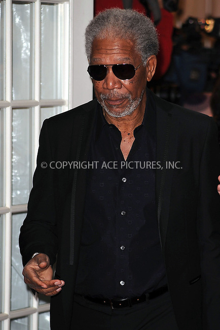WWW.ACEPIXS.COM . . . . . ....December 1 2009, New York City....Actor Morgan Freeman arriving at the Museum of The Moving Image salutes Clint Eastwood at 583 Park on December 1, 2009 in New York City. ....Please byline: KRISTIN CALLAHAN - ACEPIXS.COM.. . . . . . ..Ace Pictures, Inc:  ..(212) 243-8787 or (646) 679 0430..e-mail: picturedesk@acepixs.com..web: http://www.acepixs.com