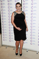 Sam Bailey arriving at James' Jog On To Cancer Event, Kensington Roof Gardens, London. 09/04/2014 Picture by: Alexandra Glen / Featureflash
