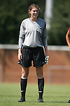06 September 2009: Stanford's Kira Maker. The Stanford University Cardinal defeated the Virginia Tech University Hokies 5-0 at UNCG Soccer Stadium in Greensboro, North Carolina in an NCAA Division I Women's college soccer game.