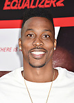 HOLLYWOOD, CA - JULY 17: Dwight Howard attends the premiere of Columbia Picture's 'Equalizer 2' at TCL Chinese Theatre on July 17, 2018 in Hollywood, California.