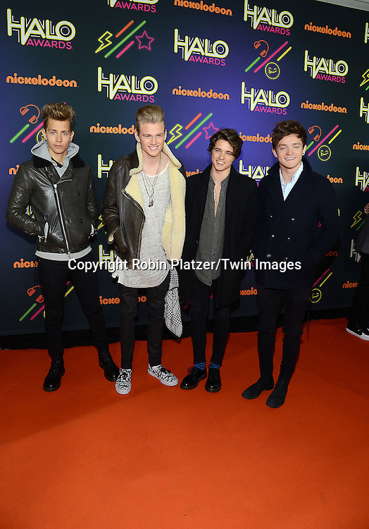 The Vamps attends the 6th Annual Nickelodeon Halo Awards on November 15, 2014 at Pier 36 in New York City. <br /> <br /> photo by Robin Platzer/Twin Images<br />  <br /> phone number 212-935-0770