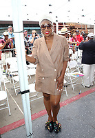 HOLLYWOOD, CA - JULY 11: Aisha Hinds, at Niecy Nash Honored With Star On The Hollywood Walk Of Fame in Hollywood, California on July 11, 2018. Credit: Faye Sadou/MediaPunch
